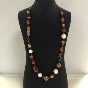 """NWT Catherine Stein variety beads 34"""" necklace"""
